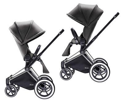 Kočárek CYBEX Set Priam All Terrain 2018 + ZDARMA Cloud Q Plus, manhattan grey - 6