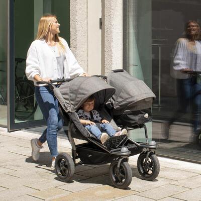 Sportovní sedačka TFK Stroller Seats Duo 2021, premium grey - 6
