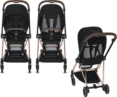 Kočárek CYBEX Mios Chrome Brown Seat Pack 2021 - 6