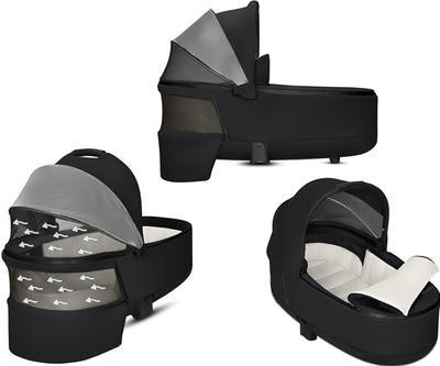 Kočárek CYBEX Set Priam Chrome Black Seat Pack PLUS 2021  včetně Aton 5, stardust black - 6