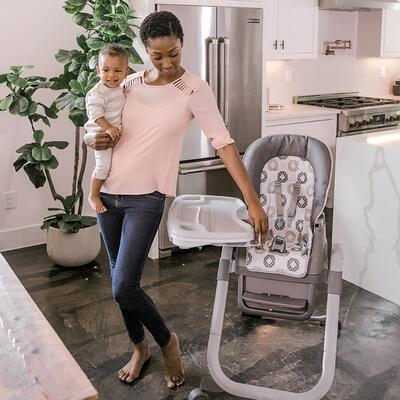 Jídelní židlička INGENUITY SmartServe 4v1 Clayton™ 6m+ 2020 - 6