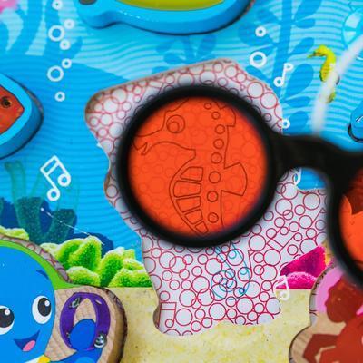 Dřevěná hračka BABY EINSTEIN Puzzle Submarine Adventure HAPE 18m+ 2020 - 6