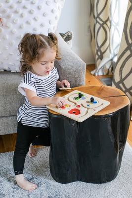 Dřevěná hračka BABY EINSTEIN Puzzle Paths to Adventure HAPE 12m+ 2020 - 6
