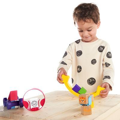 Dřevěná hračka BABY EINATEIN Stavebnice Curious Creations Kit HAPE 12m+ 2020 - 6