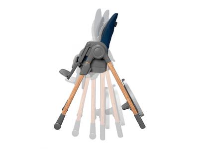 Rostoucí jídelní židlička MAXI-COSI Minla 6v1 Essential 2021, blue - 6