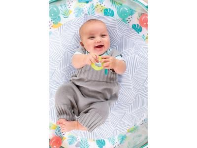 Hrací deka s hrazdou a ohrádkou INFANTINO 3v1 Jumbo 2020 - 6