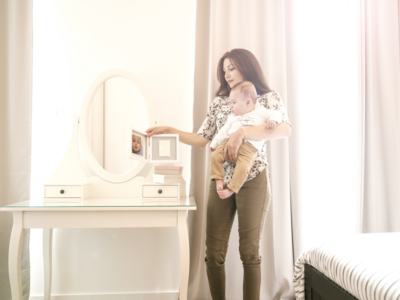 Rámeček BABY ART My Baby Touch Simple 2021, white - 6