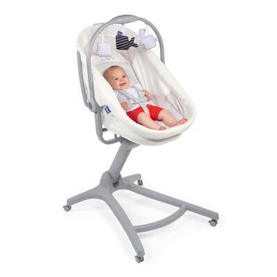 Postýlka/lehátko/židlička CHICCO Baby Hug 4v1 White snow 2020 - 6