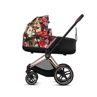 Kočárek CYBEX Priam Lux Seat Fashion Spring Blossom 2021 včetně korby - 6
