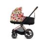 Kočárek CYBEX Set Priam Lux Seat Fashion Spring Blossom 2021 včetně autosedačky - 6/7