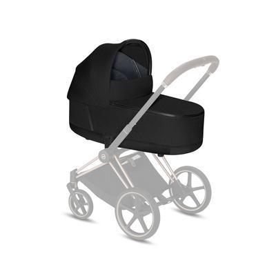 Kočárek CYBEX Set Priam Rosegold Seat Pack 2021 včetně Aton 5, deep black - 6