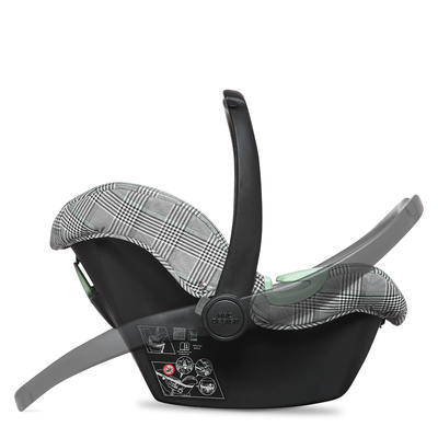 Autosedačka ABC DESIGN Set Tulip + adaptéry 2021, smaragd FASHION EDITION - 6