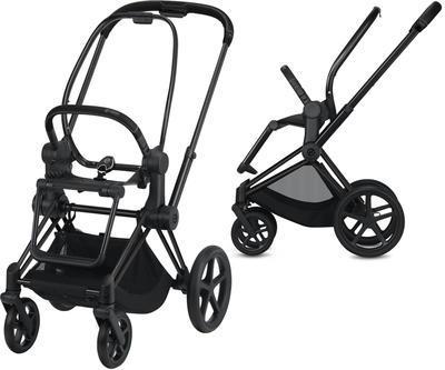 Kočárek CYBEX Priam Matt Black Seat Pack 2021 včetně korby - 7