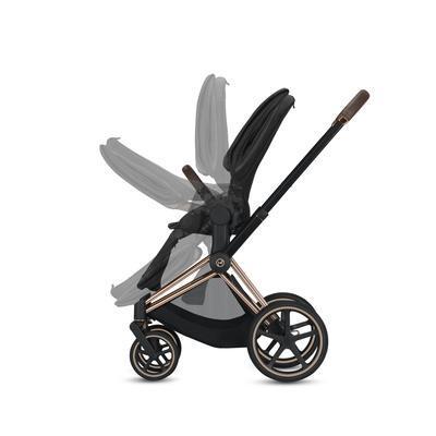 Kočárek CYBEX Priam Chrome Brown Seat Pack PLUS 2021 - 7