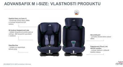 Autosedačka BRITAX RÖMER Advansafix M i-Size 2020 - 7