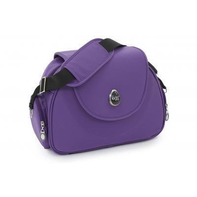 Kočárek BABYSTYLE Egg® včetně korby a tašky 2017 + DÁRKY, gothic purple/gun metal rám - 7