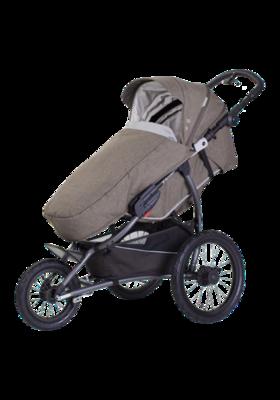 Kočárek X-LANDER X-Run 2021, azure grey - 7