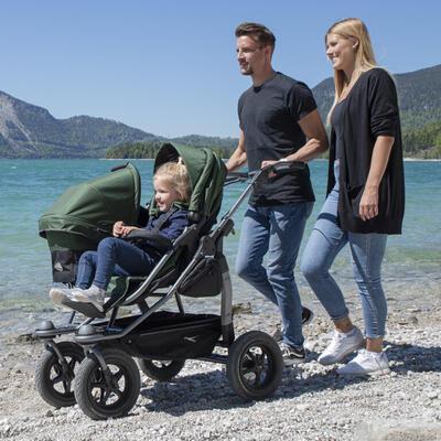 Sportovní sedačka TFK Stroller Seats Duo 2021, oliv - 7