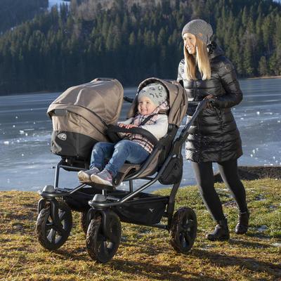 Kočárek TFK Duo Stroller Air Chamber Wheel Premium 2021 včetně Duo Combi Premium 1x - 7