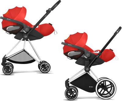 Kočárek CYBEX Set Mios Seat Pack Ferrari Fashion 2021 včetně autosedačky - 7