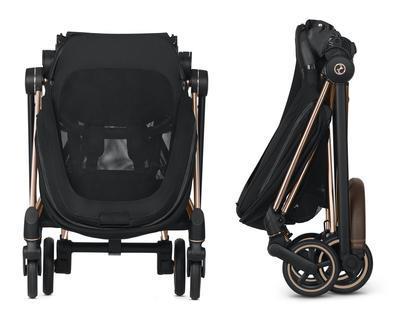 Kočárek CYBEX Mios Matt Black Seat Pack 2021 včetně korby, khaki green - 7