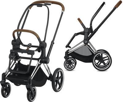 Kočárek CYBEX Set Priam Chrome Brown Seat Pack PLUS 2021  včetně Aton 5, midnight blue - 7