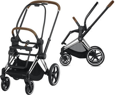 Kočárek CYBEX Set Priam Chrome Brown Seat Pack PLUS 2021  včetně Aton 5 - 7