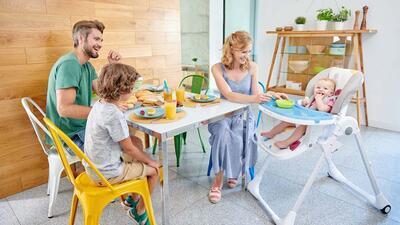 Jídelní židlička KINDERKRAFT Tastee 2021 - 7