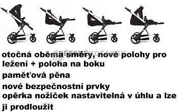 kočárek ABC DESIGN Cobra Plus 2014 včetně korby PLUS + DÁRKY - 7