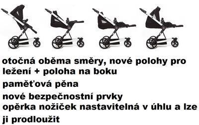 kočárek ABC DESIGN Mamba Plus 2014 + DÁRKY - 7
