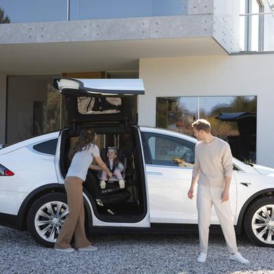 Autosedačka BESAFE iZi Twist i-Size 3D Mesh 2021 - 7