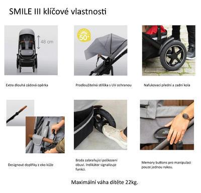 Kočárek BRITAX RÖMER Smile III 2020 včetně korby - 7