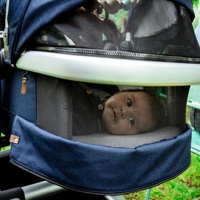 Kočárek JOOLZ Day2 Quadro kompletní set 2018 + ZDARMA taška a fusak, blu - 7