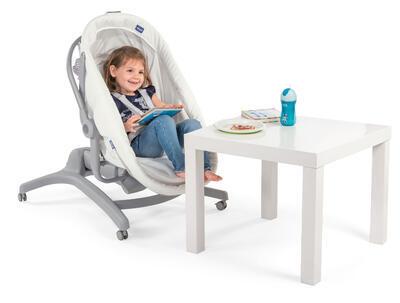 Postýlka/lehátko/židlička CHICCO Baby Hug 4v1 White snow 2020 - 7