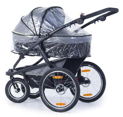 Kočárek TFK Joggster Velo 2020 včetně korby a Joggster Velo Stroller hinge bicykle clutch - 7
