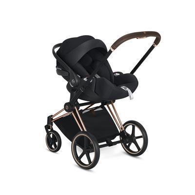 Kočárek CYBEX Set Priam Chrome Brown Seat Pack 2019 včetně Cloud Z i-Size, manhattan grey - 7