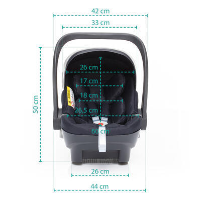 Autosedačka ZOPA X1 Plus i-Size set včetně báze 2021 - 7