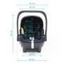 Autosedačka ZOPA X1 Plus i-Size set včetně báze 2021, vulcan blue - 7/7