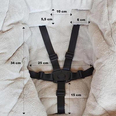 PETITE&MARS Zimní set fusak Jibot 3v1 + rukavice na kočárek Jasie 2021, steel grey - 7