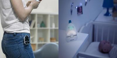 Baby monitor BABYMOOV Easy Care Digital Green 2021 - 7