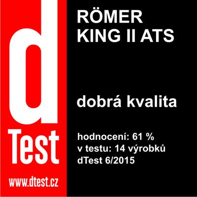 Autosedačka RÖMER King II ATS 2015 - 7