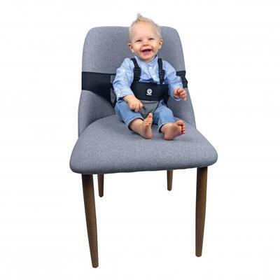 Přenosná textilní židlička DOOKY Travel Chair Black 2020 - 7