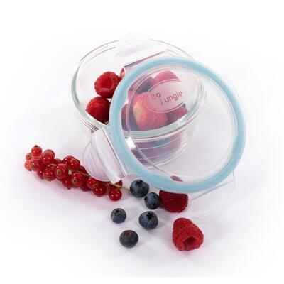 Skleněné misky s víčky BO JUNGLE B-Glass Bowls 280ml 2021 - 7