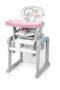 Jídelní židlička BABY DESIGN Candy 2016, 08 růžová