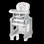 Jídelní židlička BABY DESIGN Candy 2016, 01 šedá