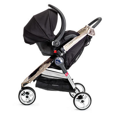 Koč 225 Rek Baby Jogger City Mini 2017 Navy Blue Gray Dětsk 233